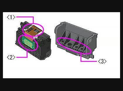 Canon MP610 プリントヘッド洗浄について - プリンター ...